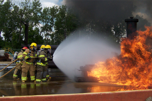professional fireman training in michigan